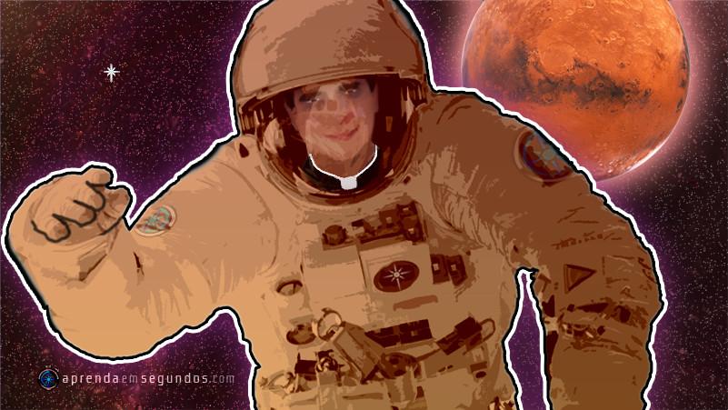 Um padre em Marte?