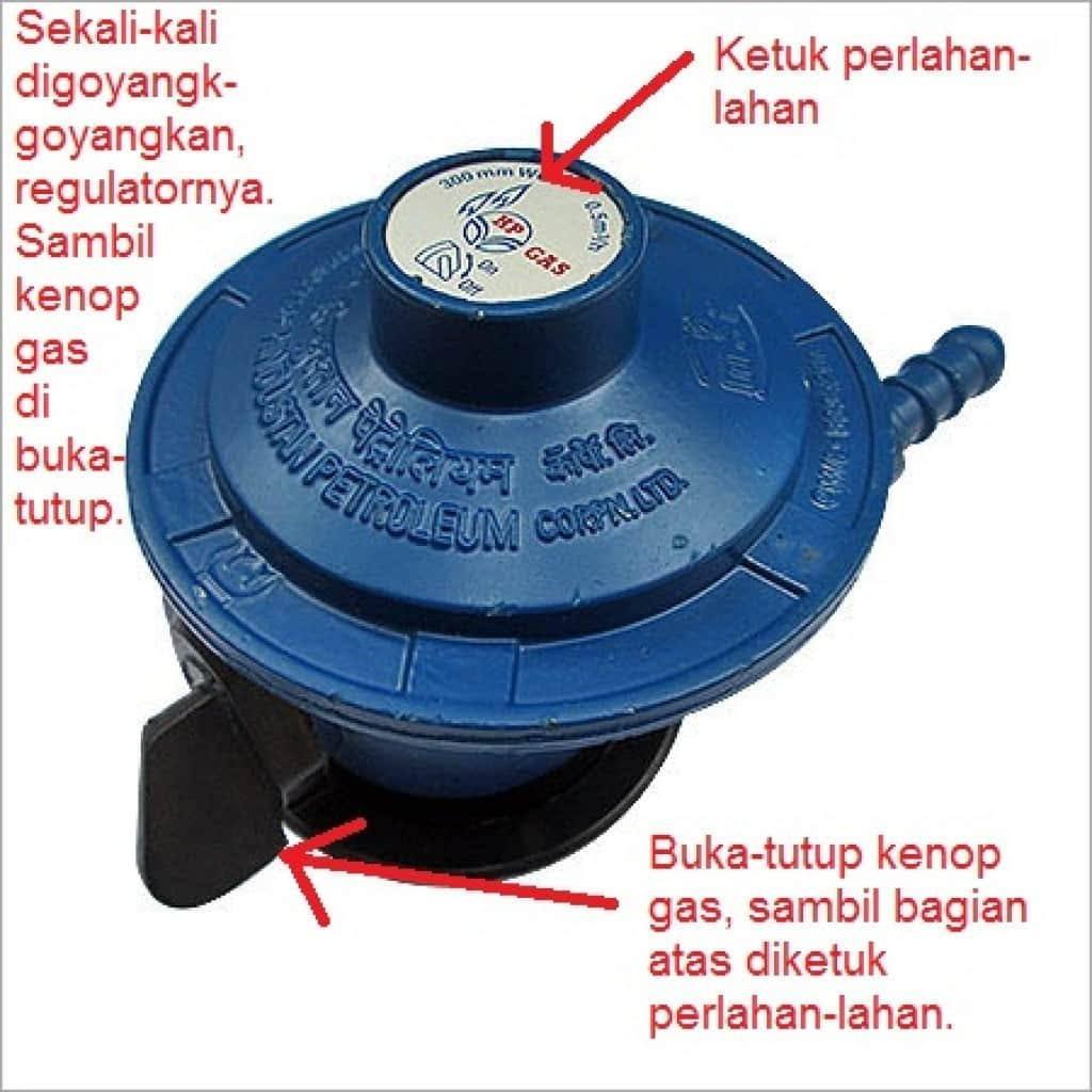 Gas Tidak Mau Nyala