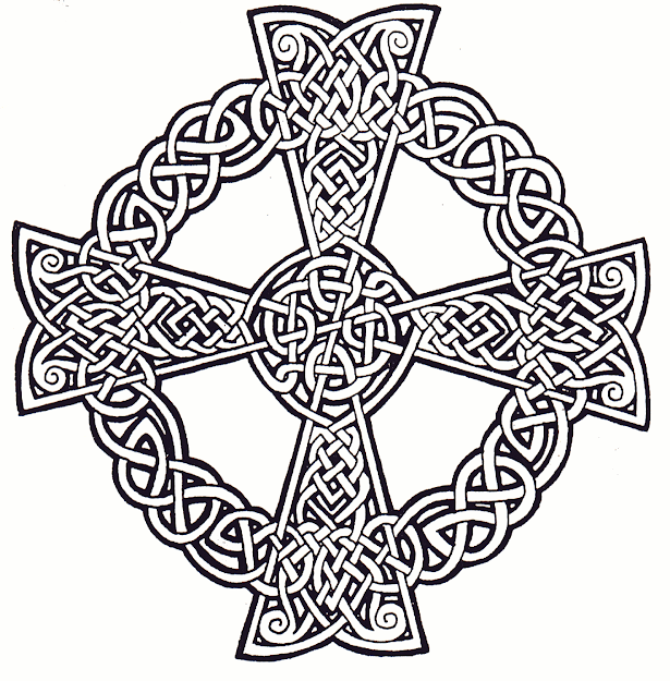 Celtic Mandala Coloring Pages  The Following Zoom View Illustrates Some Of  The Challenges Of This