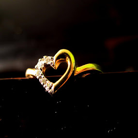 by Prerna  R - Artistic Objects Jewelry ( abstract ring, heart shaped ring )
