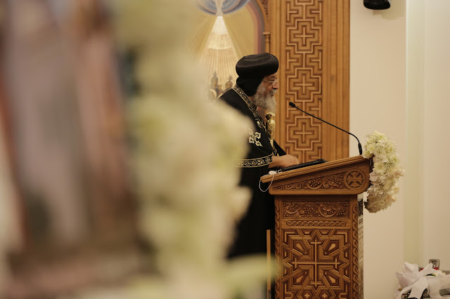 His Holiness Pope Tawadros II visit to St. Mark LA - _09A9220.JPG