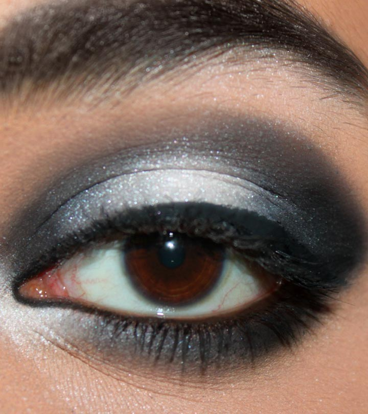 BEAUTIFUL GLOSSY EYE SHADOW LOOK FOR SOUTH AFRICAN WOMEN 4