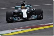 Lewis Hamilton penalizzato in Austria