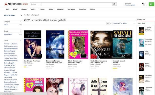 video prno italiani ebook reader