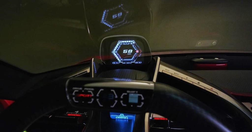 Toyota FT-1 Concept Interior 1