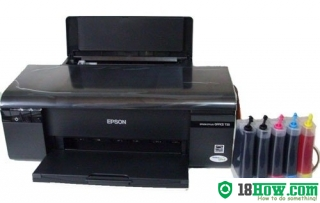 How to reset flashing lights for Epson PX659 printer