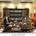 Meeting between Chief of Army Staff Thapa and Ambassador of Pakistan Javed