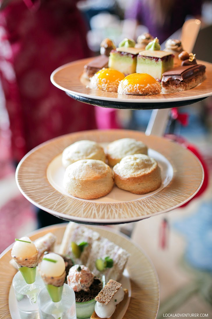 Afternoon Tea Mandarin Oriental Las Vegas.
