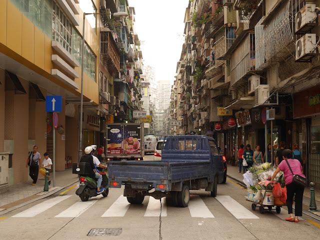 Rua de Manuel de Arriaga in Macau's Three Lamps District