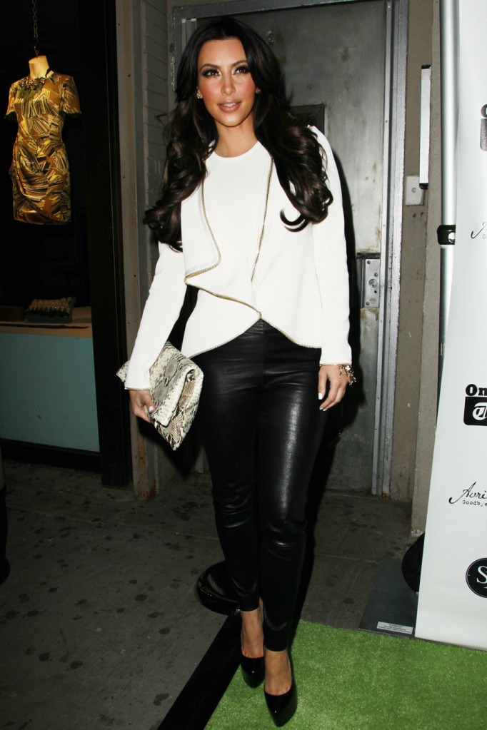 Fashion Beauty Glamour Kim Kardashian At Avril Lavigne Ablum Launch Party March 8 2011