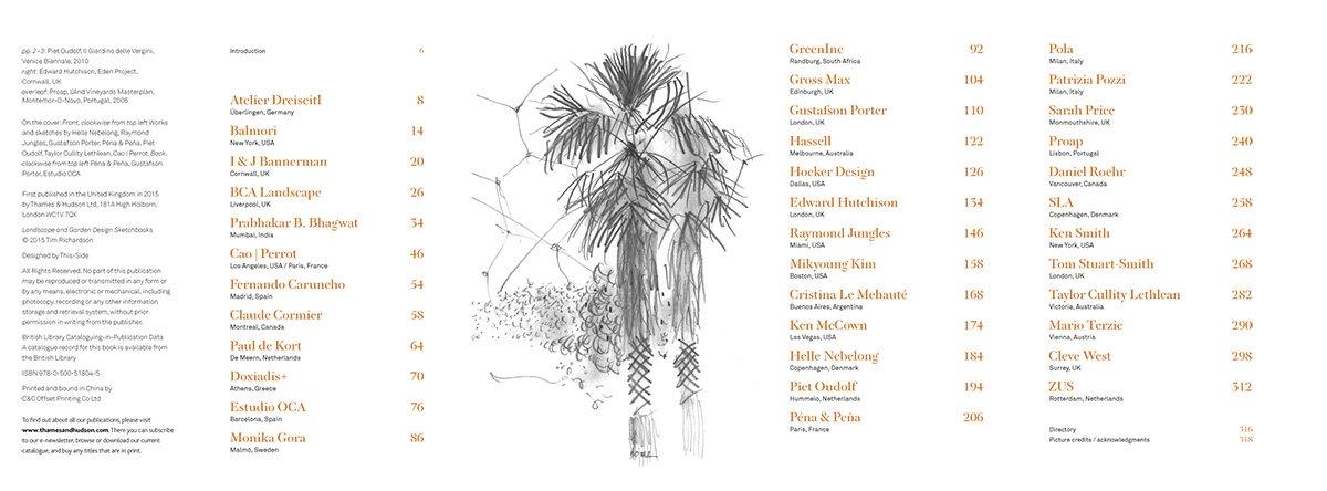 Landscape and Garden Design Sketchbooks Zahradn a krajinn