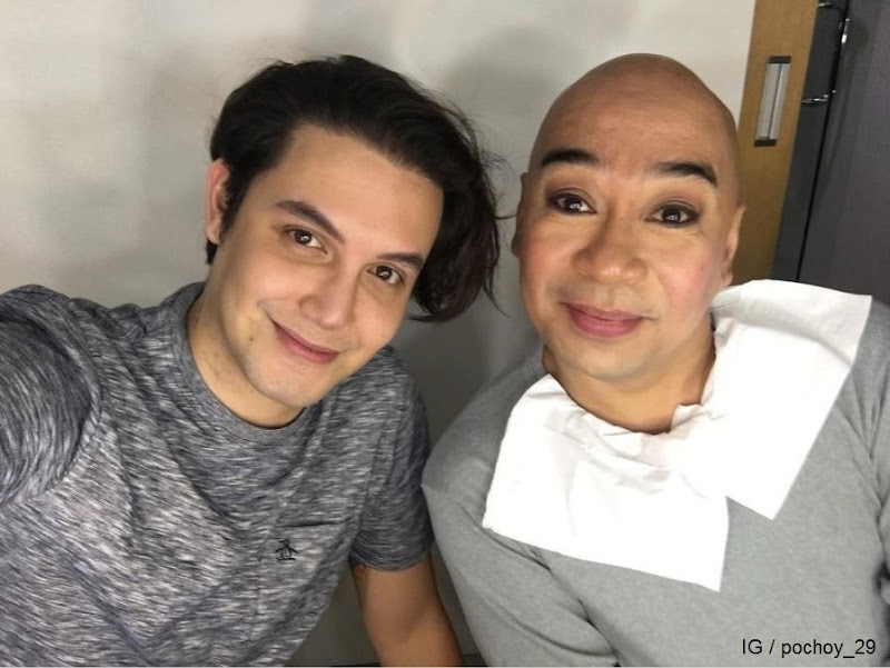 Paolo Ballesteros and Wally Bayola