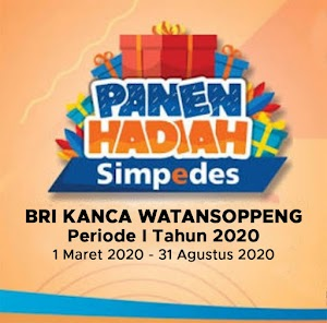 "BRI Kanca Watan Soppeng Kembali Gelar"" Panen Hadiah Simpedes 2020""Berikut Pemenangnya"