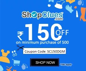 Shopclues - Flat Rs.150 Discount On Minimum Purchase Of Rs.500 Or More (All Users)