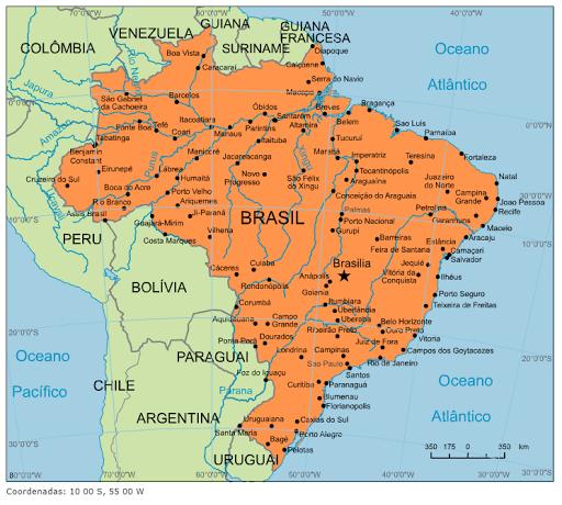 blog de geografia  brasil