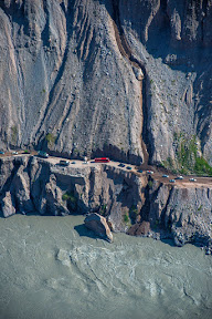 Karakorum Highway - The road connecting Gilgit Baltistan with the rest of the country.