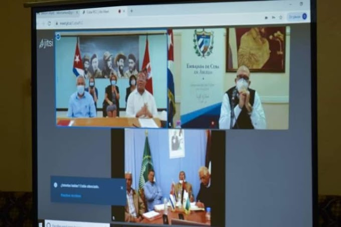 Cuba y la cooperación con la RASD en educación y salud en apoyo al pueblo saharaui.