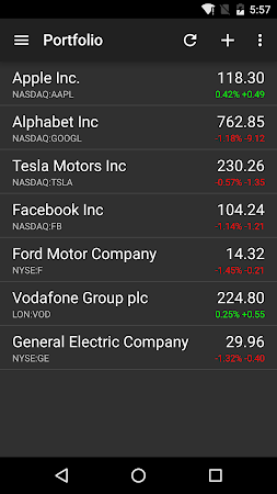 Stocks - Realtime Stock Quotes 2.6.2.2 screenshot 237158