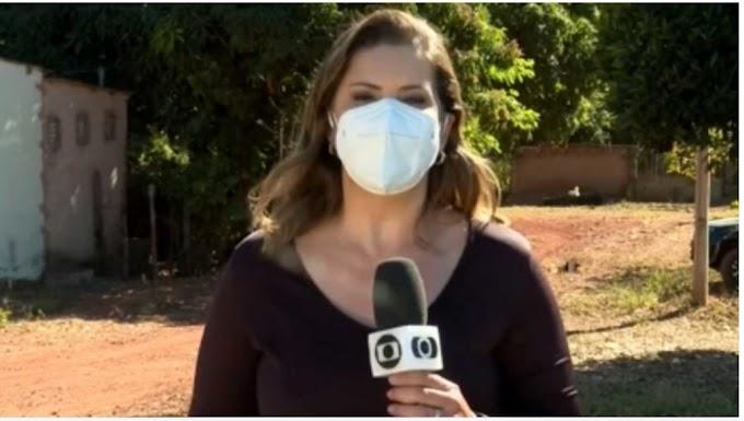 Vídeo: Repórter da Globo aparece na Record dançando após captura de Lázaro