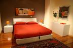 camera da letto Tempo con armadio scorrevole e letto con contenitore