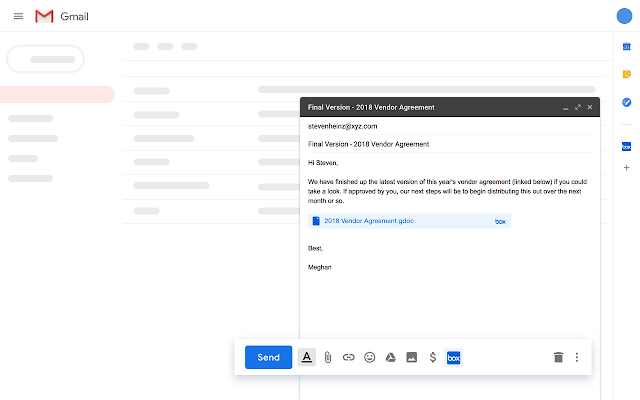Box for Gmail - G Suite Marketplace
