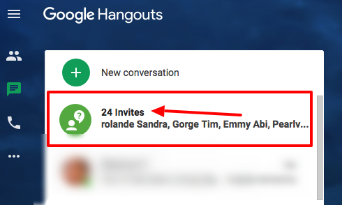 Recent Increase In Spammy Hangout Invite Requests Hangouts Help