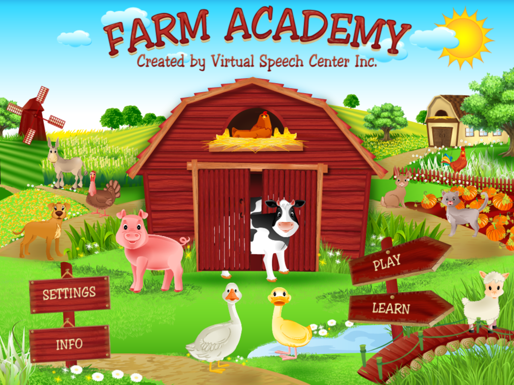 Farm Academy Main Page