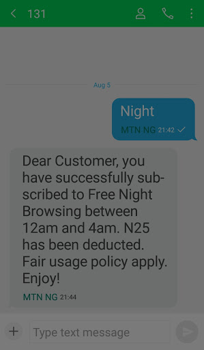 How to activate MTN100% double data offer