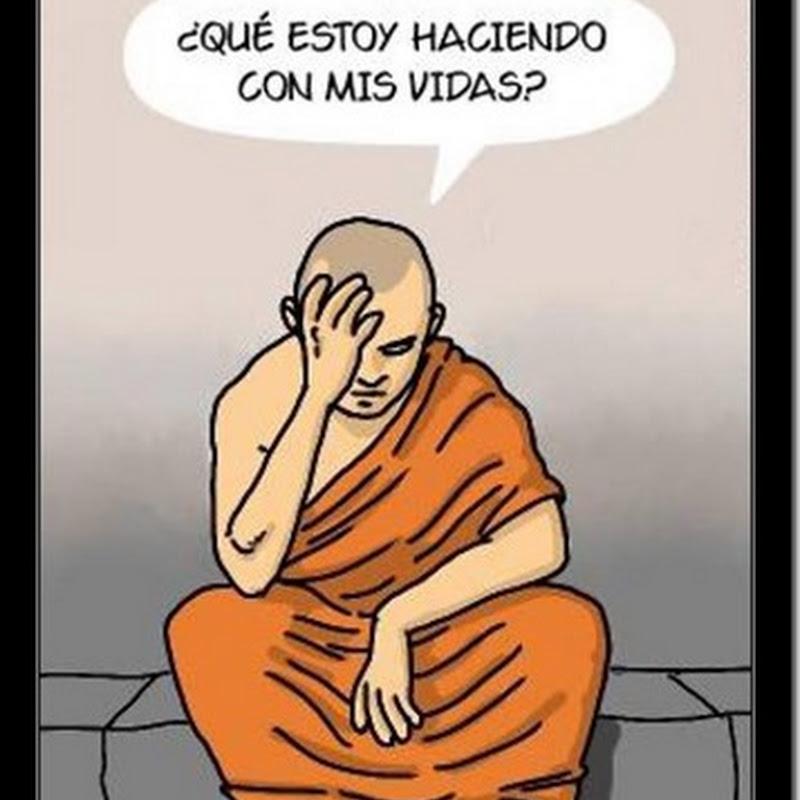 Humor crisis existencial de un Buda