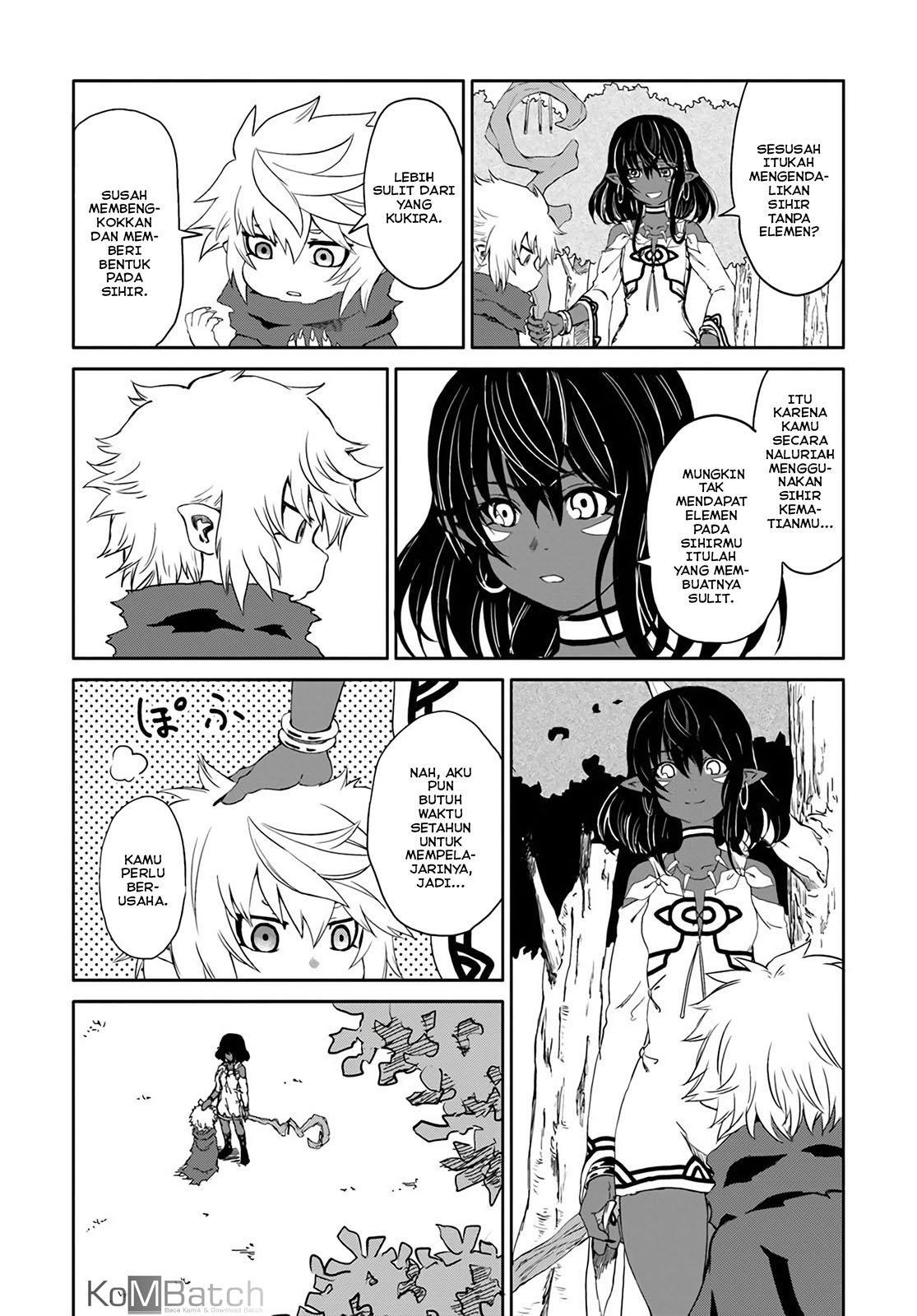Yondome wa Iyana Shi Zokusei Majutsushi Chapter 16