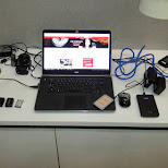 charging all my devices before travelling to Tainan in Beitou, T'ai-pei county, Taiwan