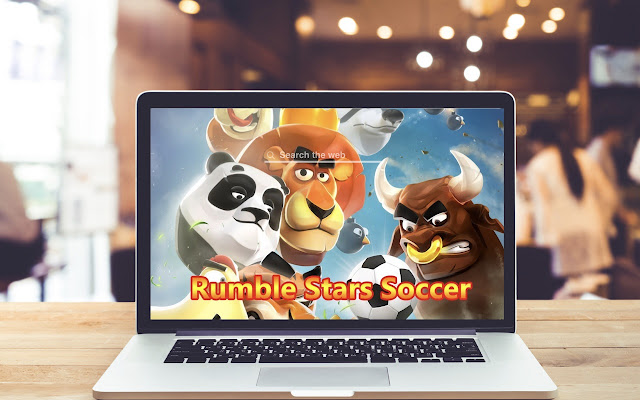 Rumble Stars Soccer HD Wallpapers Game Theme