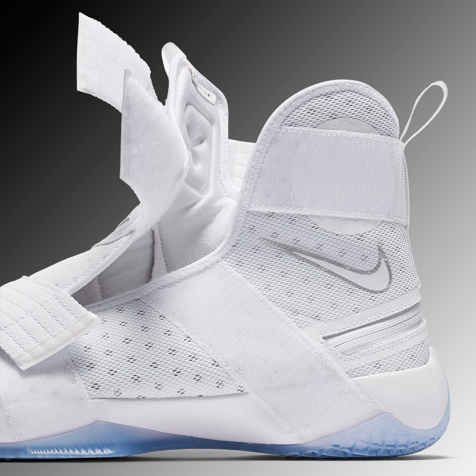 differently 18028 406d7 ... LeBron James and Nike Unveil FlyEase Version of LeBron Soldier 10 ...