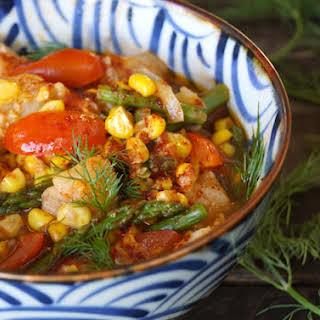 Light Spring & Summer Fish Stew.