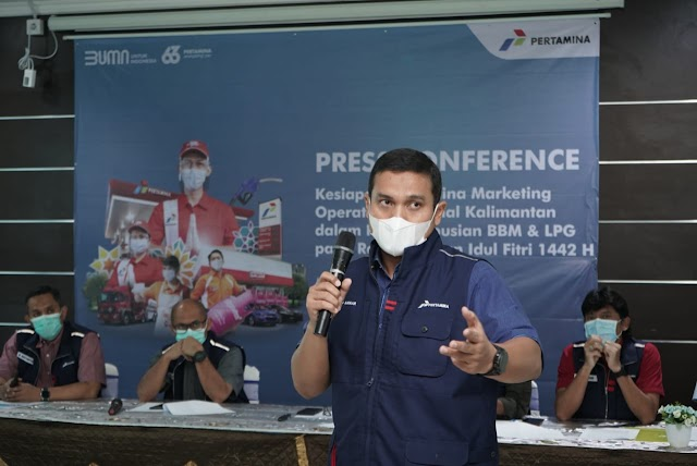 Jelang Idul Fitri, Pertamina Siap Penuhi Kebutuhan Masyarakat akan BBM & LPG di Kalsel