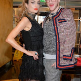 WWW.ENTSIMAGES.COM -   Jennifer Klein and Lewis Duncan Weedon   at     Charity catwalk show at Wear it for Autism - Millennium Hotel London Knightsbridge, London October 6th 2014Charity fashion show to celebrate families and individuals affected by autism.                                                 Photo Mobis Photos/OIC 0203 174 1069