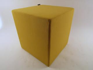 Modani Yellow Ottoman