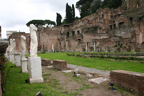 Remains of the House of the Vestal Virgins