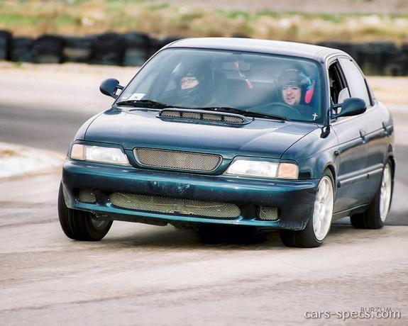 1995 Suzuki Esteem Sedan Specifications Pictures Prices
