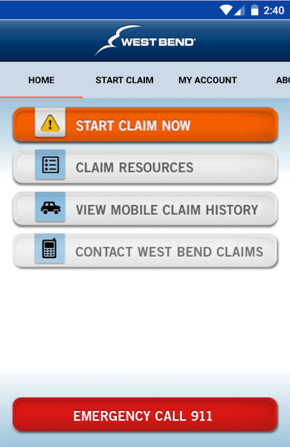 West Bend Claims Assistant- screenshot