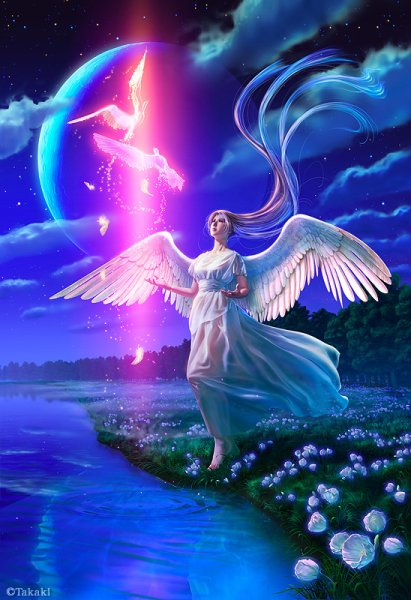 Angel And Shining Dove, Angels 2