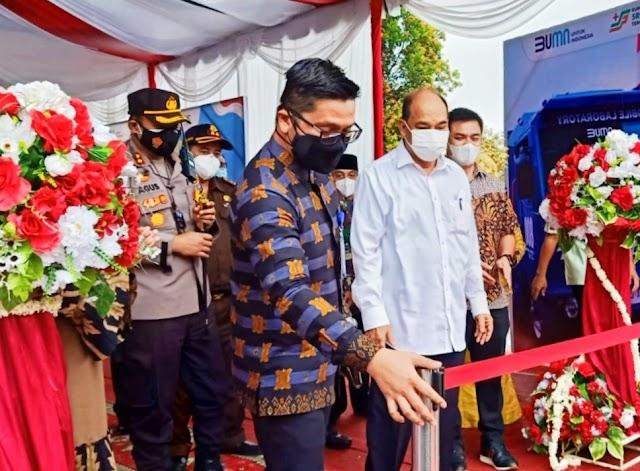 Kapolres Tebing Tinggi Hadiri Peresmian Mobile LAB PCR PT Sri Pamela Medika Nusantara