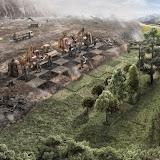 Неравный бой. Когда будет срублено последнее дерево, когда будет отравлена последняя река, когда будет поймана последняя птица - только тогда вы поймёте, что деньги нельзя есть.
