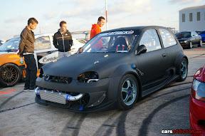 Opel Corsa Matte Black