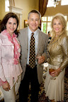 Stephanie Oaks, Frank Garrott and honorary chair Joy Weaver.