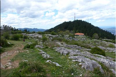 Zona cimera de Pagasarri