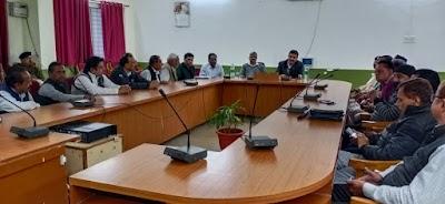 आगामी 6 दिसंबर के मद्देनजर पुलिस प्रशासन द्वारा ली गई शांति समिति की बैठक | Shivpuri News