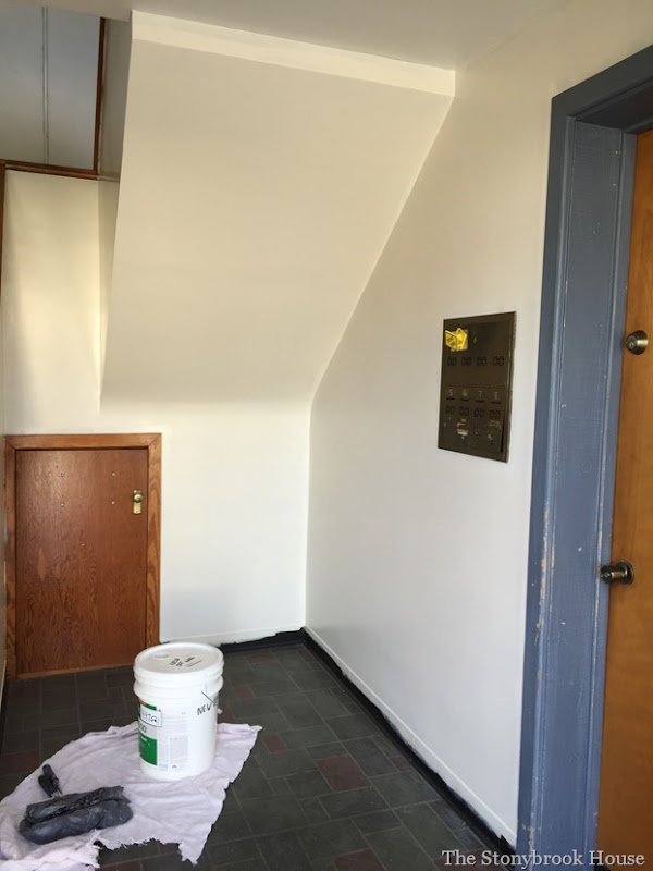 First Floor Painted
