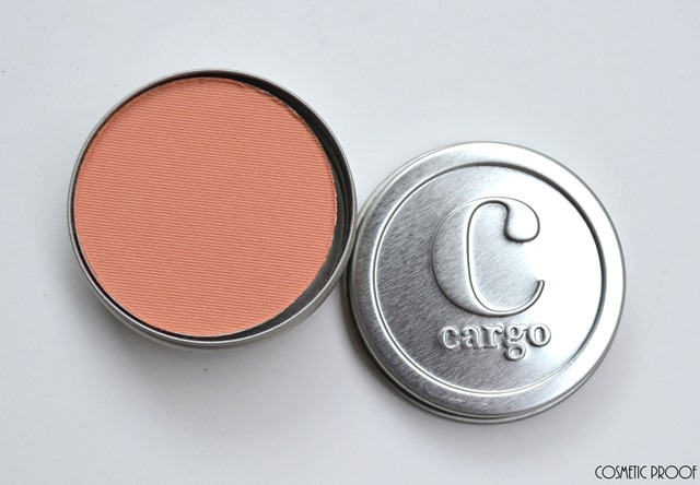 Cargo Cosmetics Water Resistant Blush in Coronado