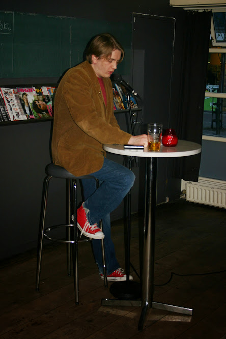 Á ljóðakvöldi Listar án landamæra á Hressó, 2. maí 2007